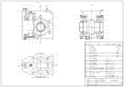 An example of a CAD engineering drawing.