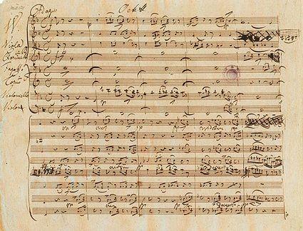 Solfeggietto sheet music