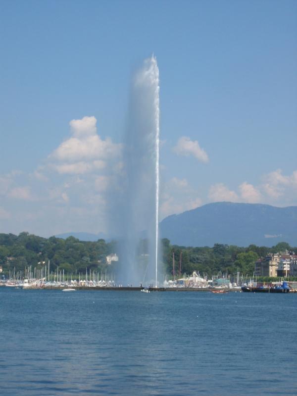 Schweiz Genf Jet-DEau