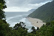 Scotts Beach from Kohaihai Bluff (Kahurangi National Park).jpg