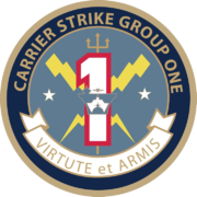 Seal of Carrier Strike Group One.png