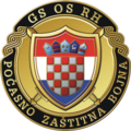 Seal of Honorary Protective Battalion of Croatian Armed Forces.png