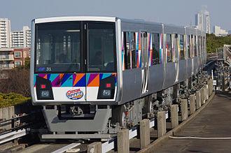 Kanazawa Seaside Line - Image: Seasideline 2000