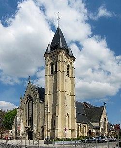 La collégiale Saint-Piat.