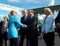 Secretary Clinton Is Greeted By Ambassador Bleich (8185875389).jpg