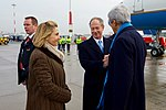 Secretary Kerry Speaks With Ambassador and Mrs. Emerson Upon Arrival in Hamburg (31341207782).jpg