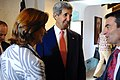 Secretary Kerry Speaks With Colombian Foreign Minister Holguin and Professor Cavallaro.jpg
