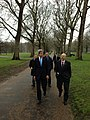 Secretary Kerry walks in Green Park with Deputy Chief of Staff William Danvers.jpg
