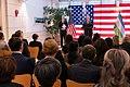 Secretary Pompeo Meets With U.S. Embassy Tashkent Personnel (49481926092).jpg