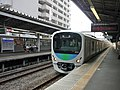 Seibu 38810 at Higashikurume Station.jpg
