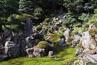 Rock garden - Seiganji in Maibara, Shiga prefecture, Japan