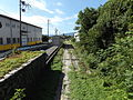 Seinō Railway Mino-Ōkubo station yard.JPG