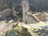 Selmberk Castle CZ palace.jpg