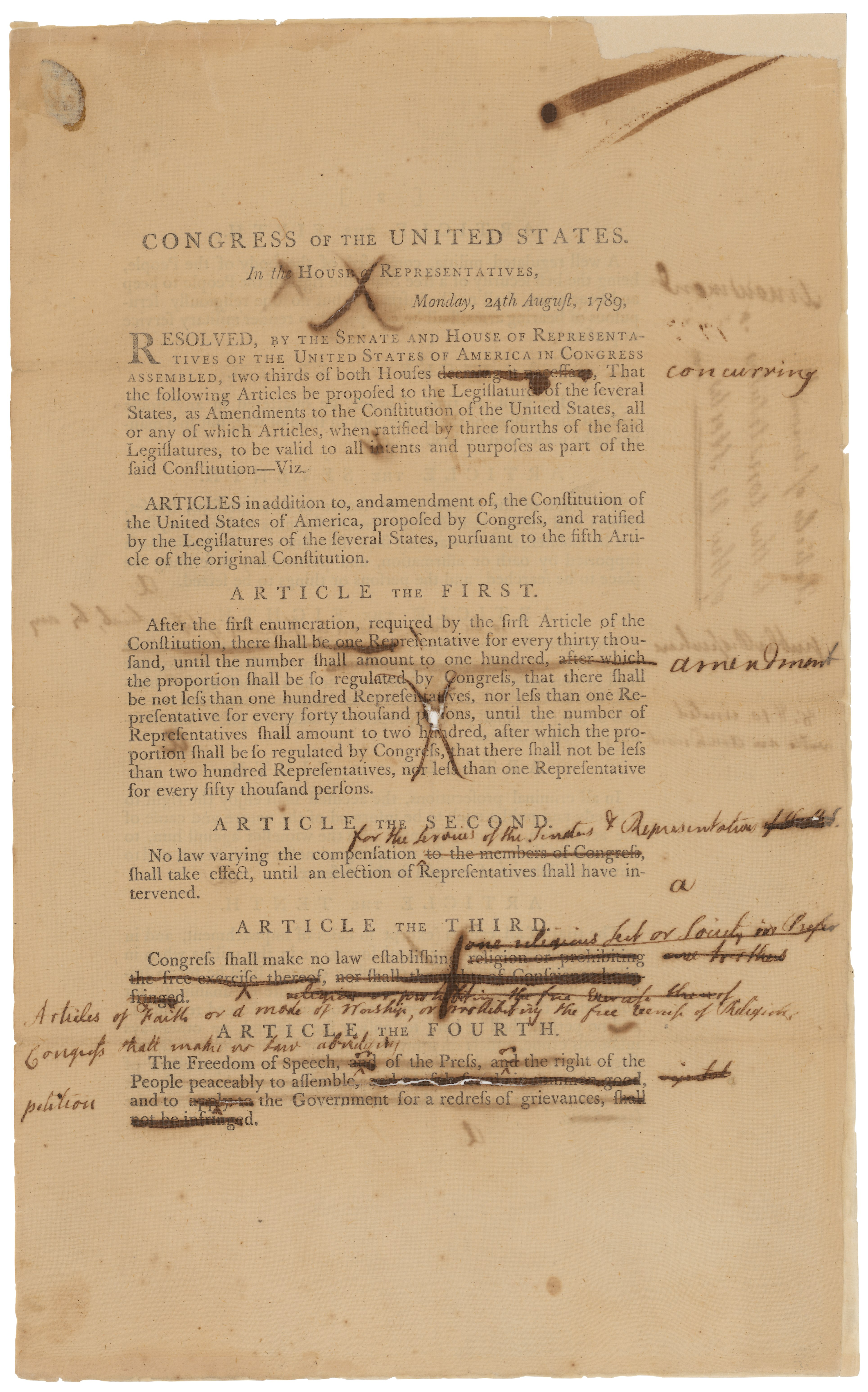 amendments of the u s constitution Politics & government / how many amendments are to the constitution  the bill of rights is the name for the very first 10 amendments to the us constitution.