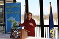 Senator Stabenow Announces $20 million grant to improve water quality in Saginaw Bay watershed. (16636308021).jpg