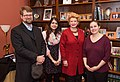 Senator Stabenow meets with representatives of the Michigan State University Department of Physics and Astronomy. (31937022383).jpg