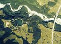 Seninzuka Jogaike water reservoir Aerial photograph.1976.jpg