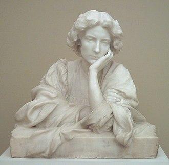 Feeling - Sensitive, sculpture by M. Blay (c. 1910)