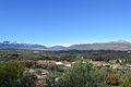 Serra de Mariola i serra del Benicadell des de Benialfaquí.JPG