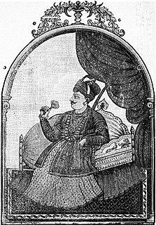 Shahuji I Raja of Thanjavur Maratha kingdom