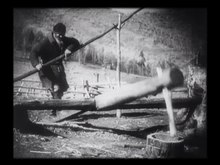 File:Shaman and hard labor in the Altai village from Alone 1931.webm