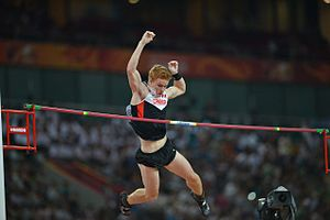 2015 World Championships in Athletics – Men's pole vault - Shawnacy Barber