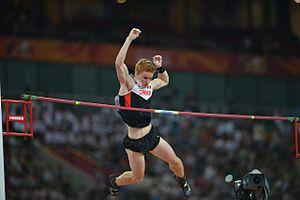 2015 World Championships in Athletics – Men's pole vault - Shawnacy Barber