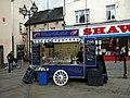 Shellfish stall in Castle Square - geograph.org.uk - 1057231.jpg