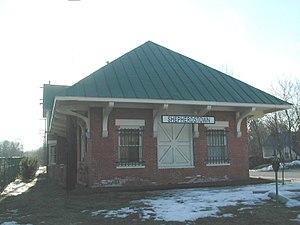 Shenandoah Valley Railroad (1867–90) - Shepherdstown WV 2005