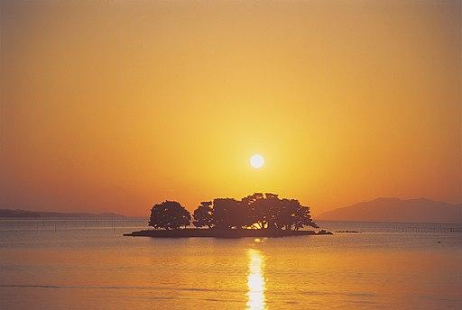 Shimane-Lake Shinji-m