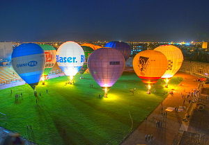 Hafezieh Stadium - Shiraz's Ballon Festival, 2010