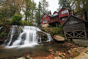 Gloucester, North Carolina - Shoal Creek Falls in Gloucester