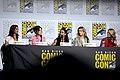 Shohreh Aghdashloo, Cobie Smulders, Freema Agyeman, Betty Gilpin & Jeri Ryan (48460258692).jpg
