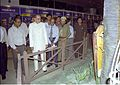 Shyamal Kumar Sen with other Dignitaries Visit Giants from the Backyard Exhibition - BITM - Calcutta 1999-09-02 120.JPG