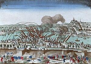 Siege of Lyon - Image: Siege of Lyon (1793)