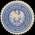 Siegelmarke Der Direktor der Brandenb. Landesirrenanstalt zu Neuruppin W0380756.jpg