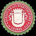 Siegelmarke Direction des Stadttheaters in Colmar im Elsaß W0285812.jpg