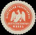 Siegelmarke K.Pr. Artilleriedepot Wesel W0348242.jpg