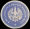 Siegelmarke K.Pr. Landrath des Kreises Hoyerswerda W0381247.jpg