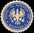 Siegelmarke K. Pr. Katasteramt - Hannover I. W0239807.jpg