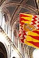 Siena - Flagge der Contrada Valdimontone.JPG