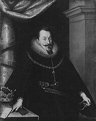 Bildnis des Königs Sigismund III. Vara von Polen und Schweden