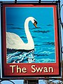 Sign for the Swan - geograph.org.uk - 1671615.jpg