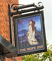 Sign of the Hope Inn - geograph.org.uk - 1389586.jpg