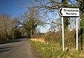 Sign to Grasslands Nursery - geograph.org.uk - 335716.jpg