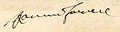 Signature of Ranuccio II Farnese, Duke of Parma.png