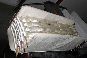 Animal fiber - Raw silk