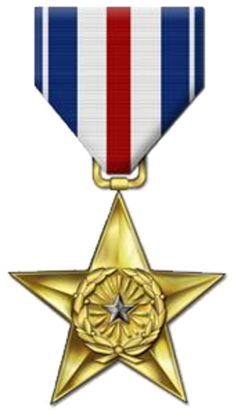 Citation Star - Silver Star Medal