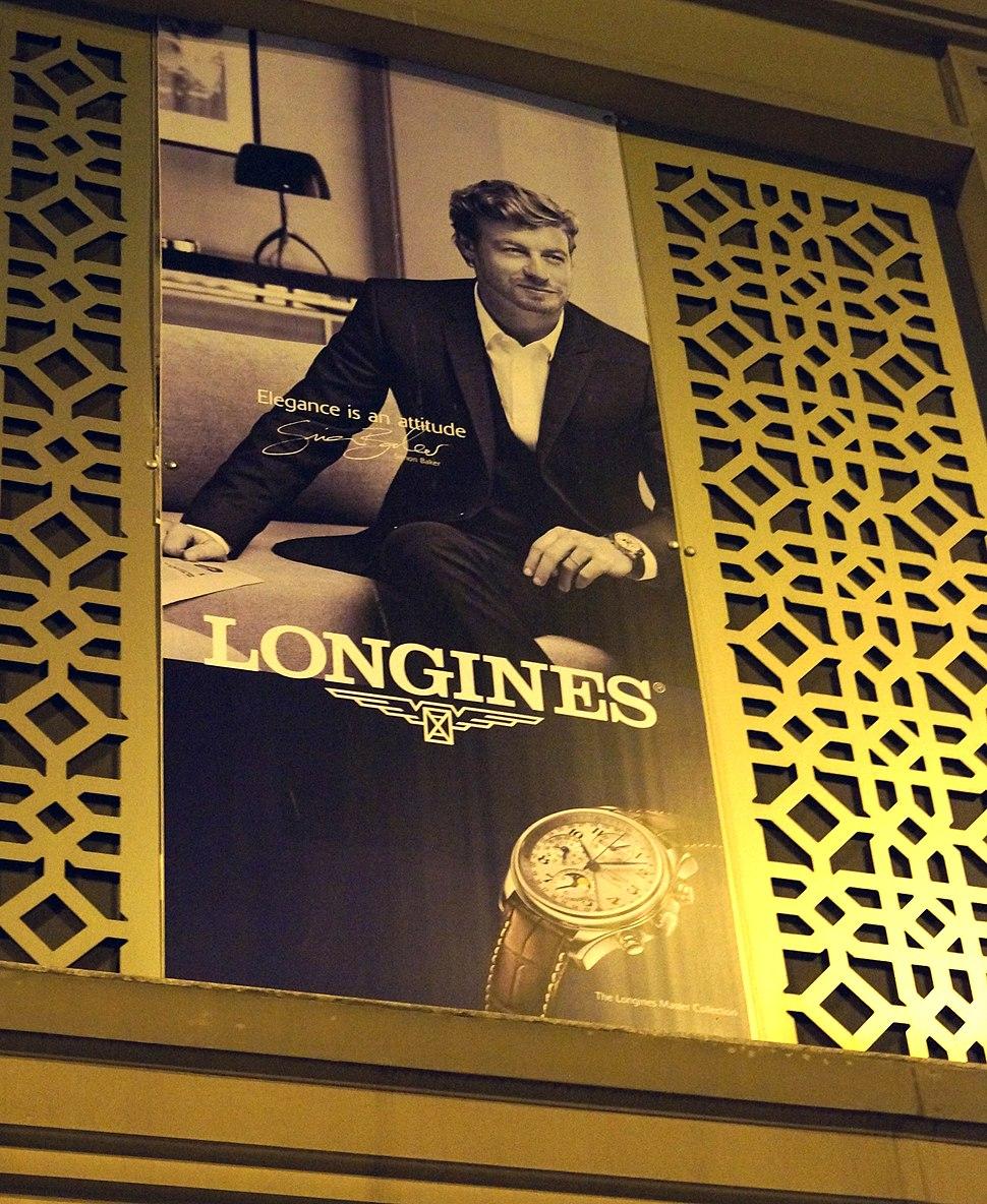Simon Baker's Longines Advertisement Billboard in Istanbul