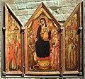 Simone dei crocifissi, altarolo con la madonna col bambino e santi, 1390-99 ca.jpg